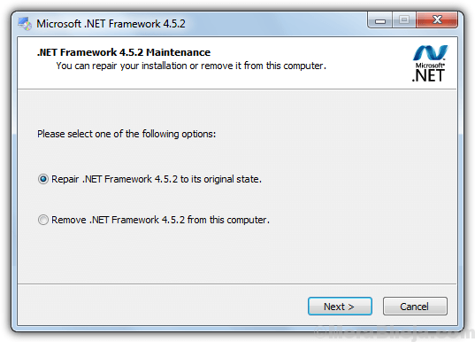 Net Framework Repair