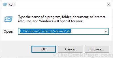 Esegui System32