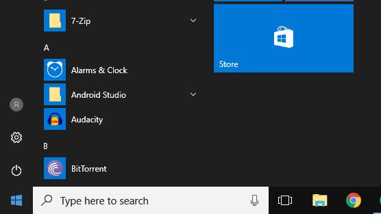 Windows 10 non è trasparente