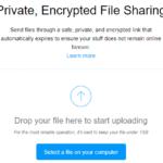 9 migliori siti di condivisione file anonimi: nessuna registrazione richiesta