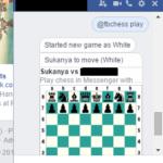 Come avviare una partita di scacchi nascosta nell'app Facebook Messenger
