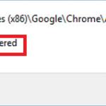 Come correggere l'errore di classe non registrato in Google Chrome