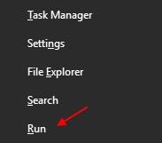 Esegui Windows 10