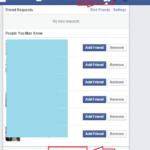 Come scoprire chi ha ignorato la tua richiesta di amicizia su Facebook
