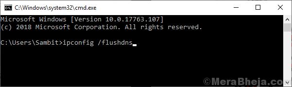 Ipconfig Flushdns