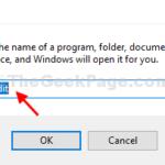 Disabilita l'avviso di spazio su disco insufficiente in Windows 10