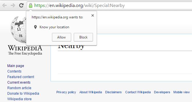 wikipedia-nelle vicinanze