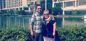 Patricia e suo figlio Kris fiverr