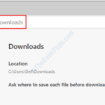 Impedisci a Microsoft Edge di scaricare automaticamente i file
