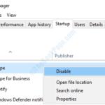Impedisci l'avvio automatico di Skype all'avvio di Windows 10