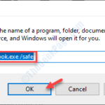 Impossibile aprire la finestra di Outlook in Windows 10 Fix