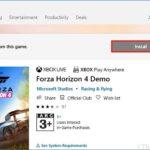 """L'opzione """"Installa"""" è disattivata in alcuni giochi in Microsoft Store"""