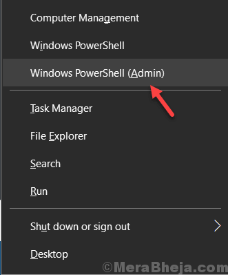 Gestione minima di Windows Powershell