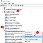 Ripristina il driver dell'interfaccia del motore di gestione Intel (R) in Windows 10