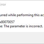 """Risolto - Errore di Credential Manager 0x80070057 """"Il parametro è sbagliato"""""""