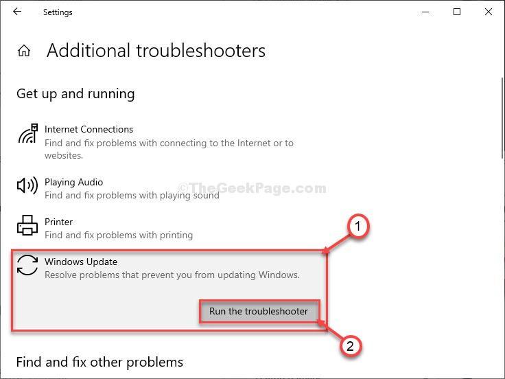 Risoluzione dei problemi di Windows Update