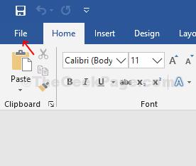 File di Word