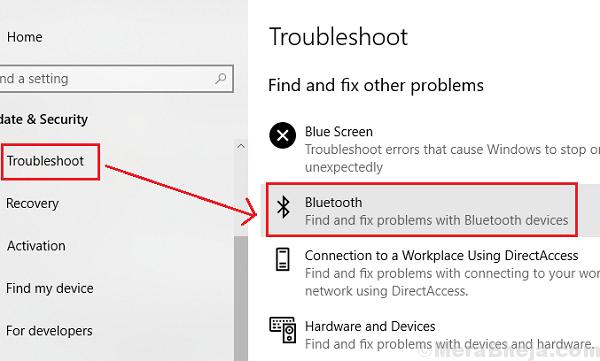 Risoluzione dei problemi Bluetooth