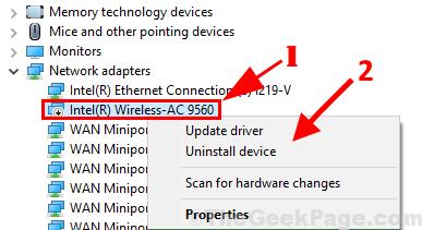 Disinstallare Intel 9540