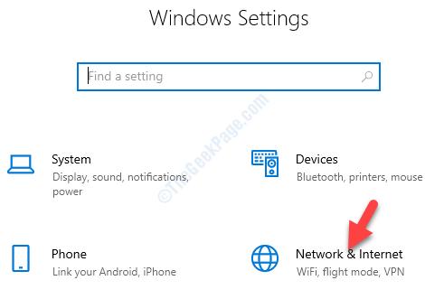 Configurazione di rete e Internet
