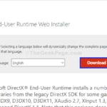X3DAudio1_7.dll manca errore in Windows 10