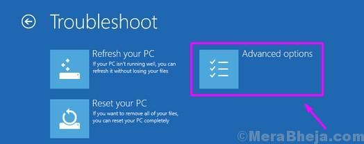 Opzioni di configurazione avanzate di Windows