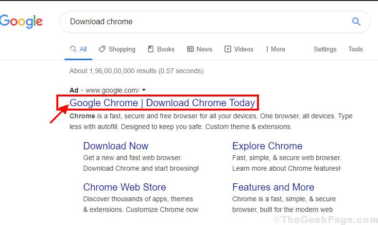 Installazione di Google Chrome