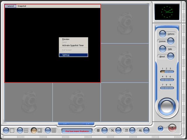 videoregistratore multi-webcam