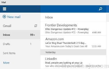 Calendario di Microsoft Mail min