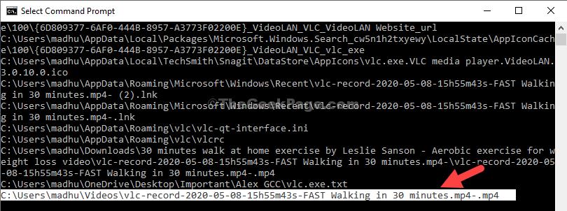 Seleziona il file da aprire Fare clic con il pulsante destro del mouse per copiare