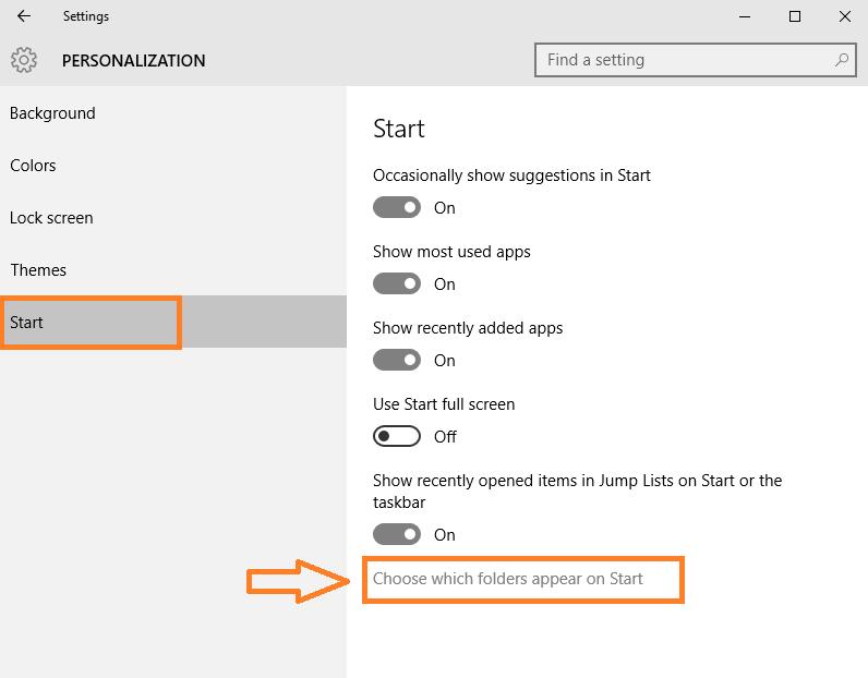scegli-cartelle-menu-avvio-windows10