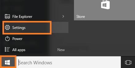 configurazione-windows-10