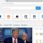 Come modificare la pagina Nuova scheda in una pagina vuota in Microsoft Edge