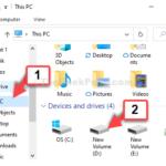Come utilizzare Copia percorso in Windows 10 per copiare l'elenco di tutti i file in una cartella