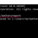 Genera facilmente un rapporto sullo stato della batteria in Windows 10