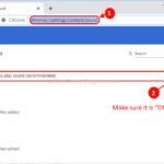 Nessun suono in Google Chrome