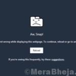 Soluzioni di lavoro per correggere l'errore Aw Snap in Chrome