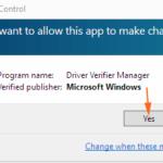 Usa Driver Checker Manager per trovare un driver problematico in Windows 10