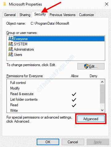 Microsoft Advanced Security