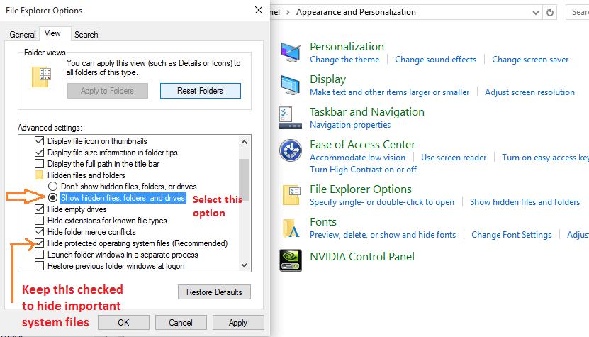 mostra-file-nascosti-windows-10