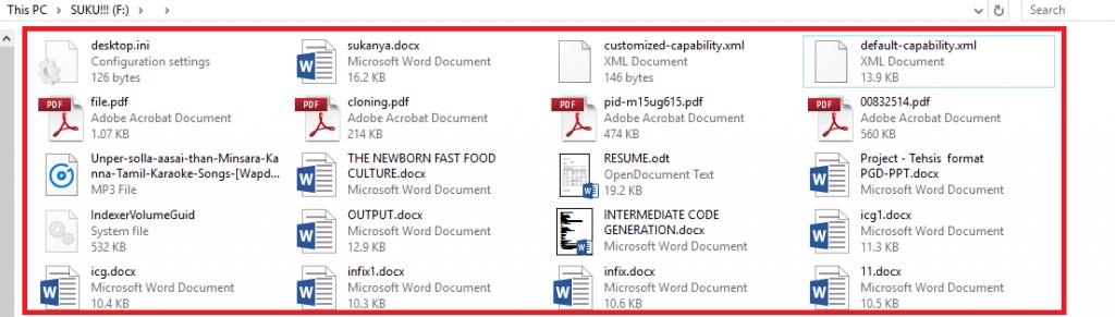 file originali