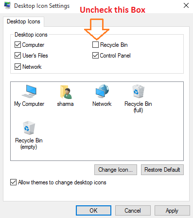 deseleziona-cestino-da-visualizzare-desktop
