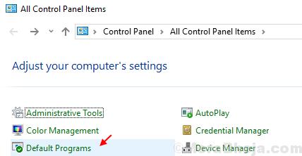 Programmi predefiniti Windows 10