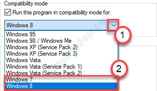 Compatibilità con Widows 8 o Windows 7
