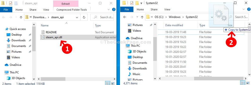 Copia Steam Api Dll da Download a System32