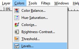 Scegli i livelli di colore