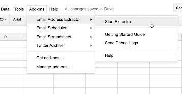 Mail Extractor
