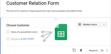 Modulo di relazione con il cliente