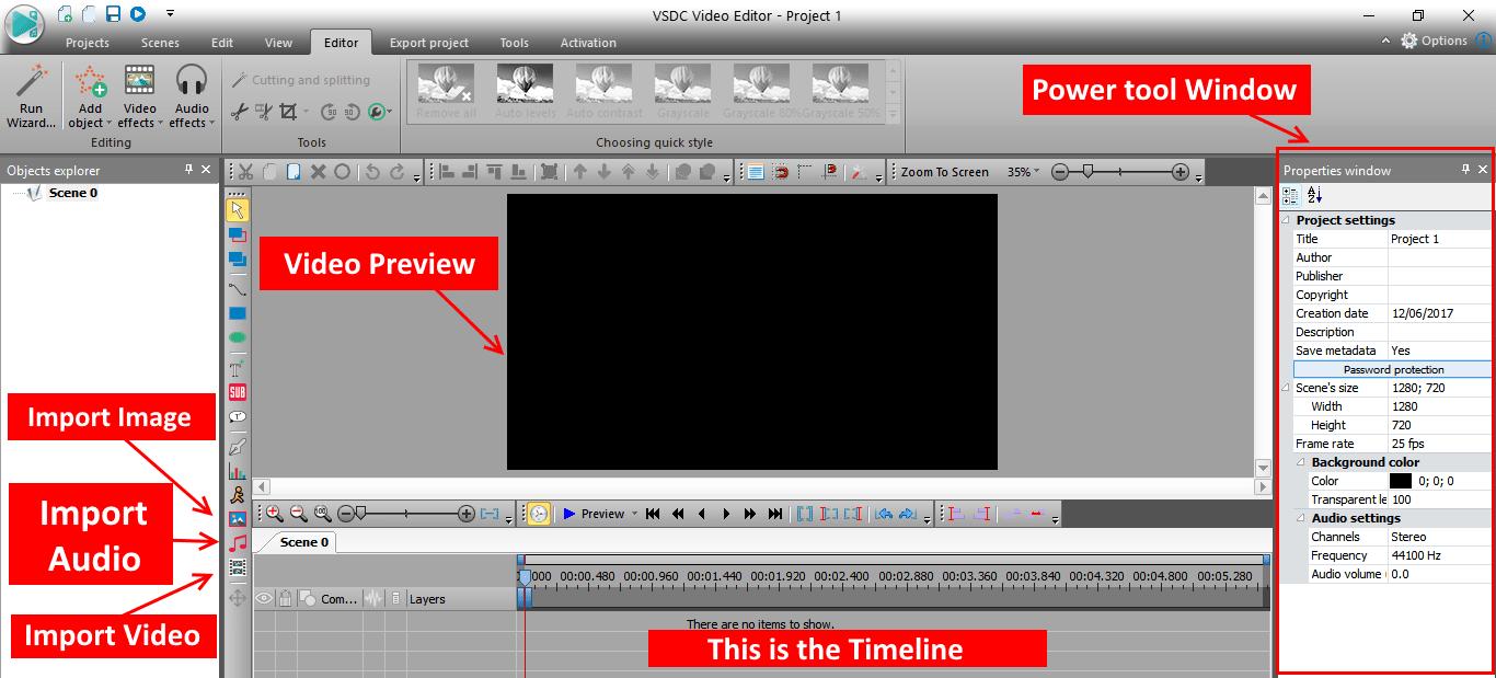 Immagine tutorial VSDC 2