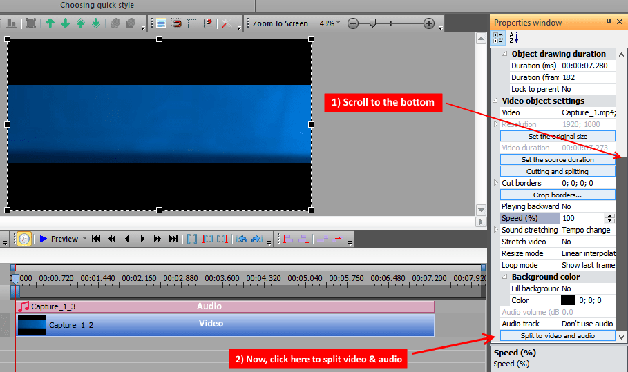Immagine tutorial VSDC 4